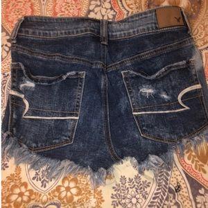 Women's size 6 AEO hi rise short shorts